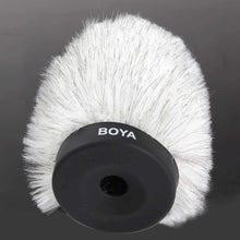 Load image into Gallery viewer, AMZER Furry Outdoor Interview Windshield Muff for Shotgun Capacitor Microphones - fommystore