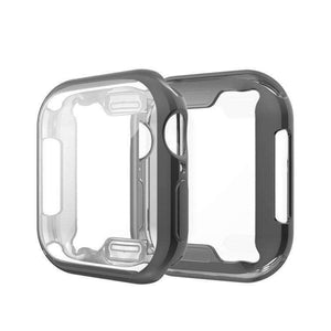 AMZER Full Coverage Plating TPU Case for Apple Watch Series 4 44mm - fommystore