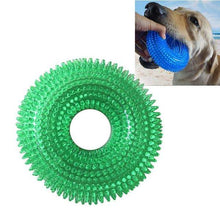 Load image into Gallery viewer, Pet Toys Chewing Bite Sound Toy Chew Ball Thorny Ring Bite Resistant for Large Pets, Size: 12.5 x 12.5cm - fommystore
