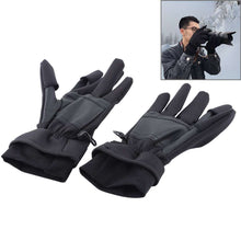 Load image into Gallery viewer, AMZER Outdoor Sports Wind-stopper Full Finger Winter Warm Photography Gloves