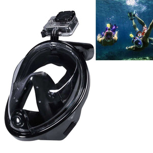 AMZER Water Sports Diving Equipment Full Dry Diving Mask Swimming Glasses for GoProNEW HERO /HERO6 / 5 /5 Session /4 /3+ /3 /2 /1