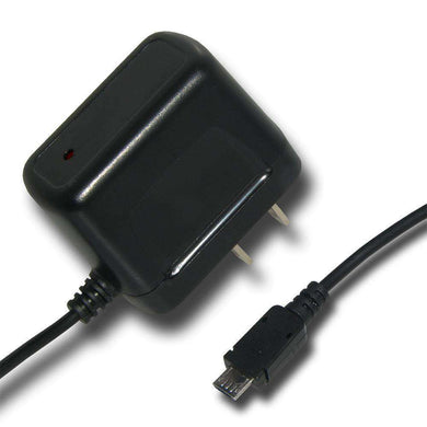 Amzer Micro USB Travel Wall Charger - Black - fommystore