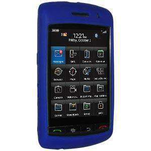 AMZER Silicone Skin Jelly Case for BlackBerry Storm 9530 - Blue - fommystore