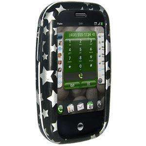 AMZER Snap On Crystal Hard Case for Palm Pre - Stars Black - fommystore