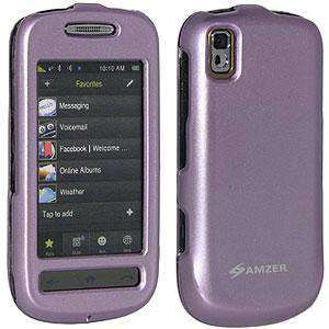AMZER Snap On Crystal Hard Case for Samsung Instinct s30 - Polished Lilac - fommystore