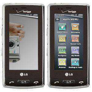 AMZER Kristal Mirror Screen Protector for LG Versa LX9600 - fommystore