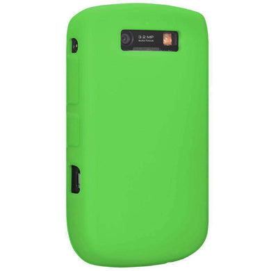 AMZER Silicone Skin Jelly Case for BlackBerry Curve 8900 - Green - fommystore