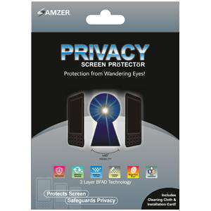Amzer Universal Kristal Privacy Protector Shield 6 x 3.5 Inch
