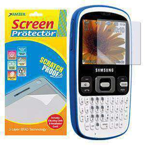 AMZER Kristal Clear Screen Protector for Samsung Freeform R350 - fommystore