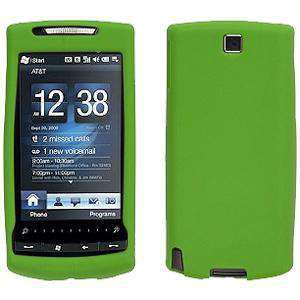 AMZER Silicone Skin Jelly Case for HTC Pure - Green - fommystore