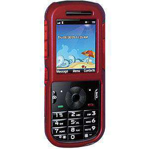 Rubberized Red Protector Case for Motorola VE440 - fommystore