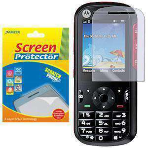 AMZER Kristal Clear Screen Protector for Motorola VE440 - fommystore