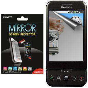 AMZER Kristal Mirror Screen Protector for HTC Dream - fommystore
