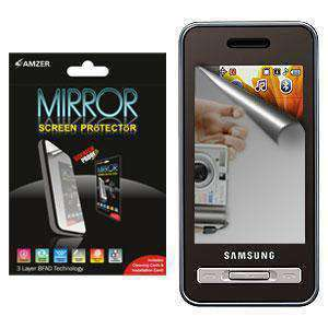 AMZER Kristal Mirror Screen Protector for Samsung Finesse R810 - fommystore