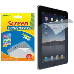 AMZER Kristal Clear Screen Protector for Apple iPad - fommystore