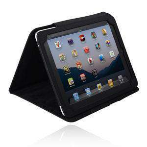 Incipio® Nylon Kickstand Case – Black/ Black for Apple iPad
