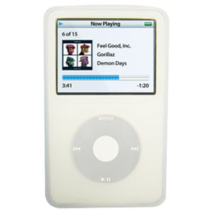 AMZER Soft Skin Case for iPod Video 60GB - Transparent