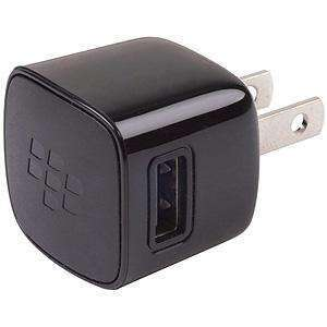 RIM (OEM) BlackBerry® USB Power Plug Charger Adapter - Black - fommystore