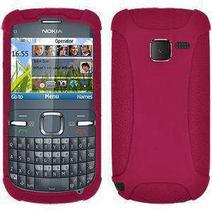AMZER Silicone Skin Jelly Case for Nokia C3 - fommystore
