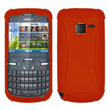 Load image into Gallery viewer, AMZER Silicone Skin Jelly Case for Nokia C3 - fommystore
