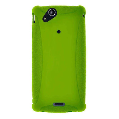 AMZER Silicone Skin Jelly Case for Sony Ericsson Xperia arc - Green - fommystore