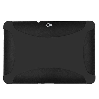 AMZER Silicone Skin Jelly Case for Samsung GALAXY Tab 10.1 P7100 - Black - fommystore