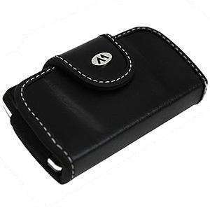 Milante® Abruzzi Small Horizontal Leather Case – Black for BlackBerry Style 9670 - fommystore