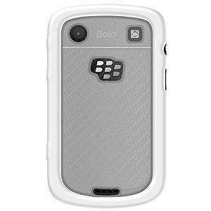AquaFlex TPU Hard Case - White/ Clear for BlackBerry Bold 9900 - fommystore