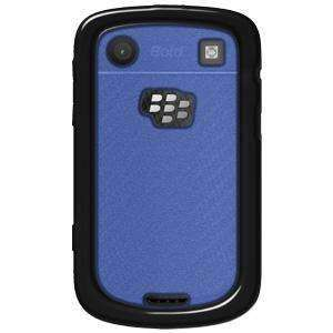 AquaFlex TPU Hard Case - Black/ Blue for BlackBerry Bold 9900 - fommystore