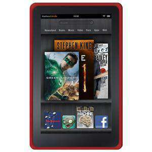 AMZER Shockproof Rugged Silicone Skin Jelly Case for Amazon Kindle Fire - fommystore