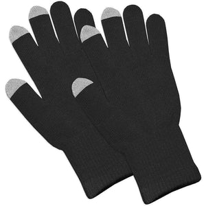 Amzer® Capacitive Touch Screen Knit Gloves-Black - fommystore