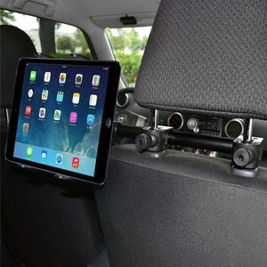 Amzer Deluxe Universal iPad Tablet 7 inch to 12 inch Headrest Mount - fommystore