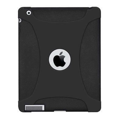 AMZER Shockproof Rugged Silicone Skin Jelly Case for iPad 3 - fommystore