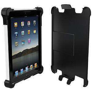 Ballistic® Tough Jacket Series Case - Black/ White for Apple iPad 4 with Retina Display - fommystore