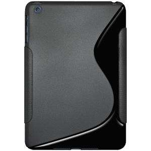 AMZER Soft TPU Hybrid Case for Apple iPad mini - Solid Black - fommystore