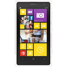 Load image into Gallery viewer, AMZER Soft TPU Hybrid Case for Nokia Lumia 1020 - Solid White - fommystore