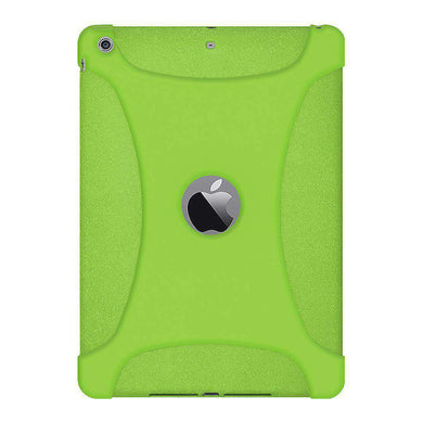 AMZER Shockproof Rugged Silicone Skin Jelly Case for iPad Air - Green - fommystore