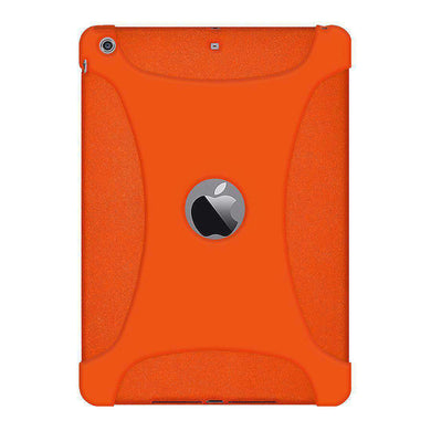 AMZER Shockproof Rugged Silicone Skin Jelly Case for iPad Air - Orange - fommystore