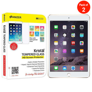 AMZER Kristal Tempered Glass HD Screen Protector for Apple iPad mini