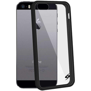 AMZER Shockproof Bumper Cover Hybrid Hard Case for iPhone 5 - fommystore