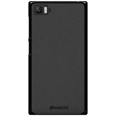 AMZER Pudding Soft TPU Skin Case for Xiaomi Mi 3 - Black - fommystore