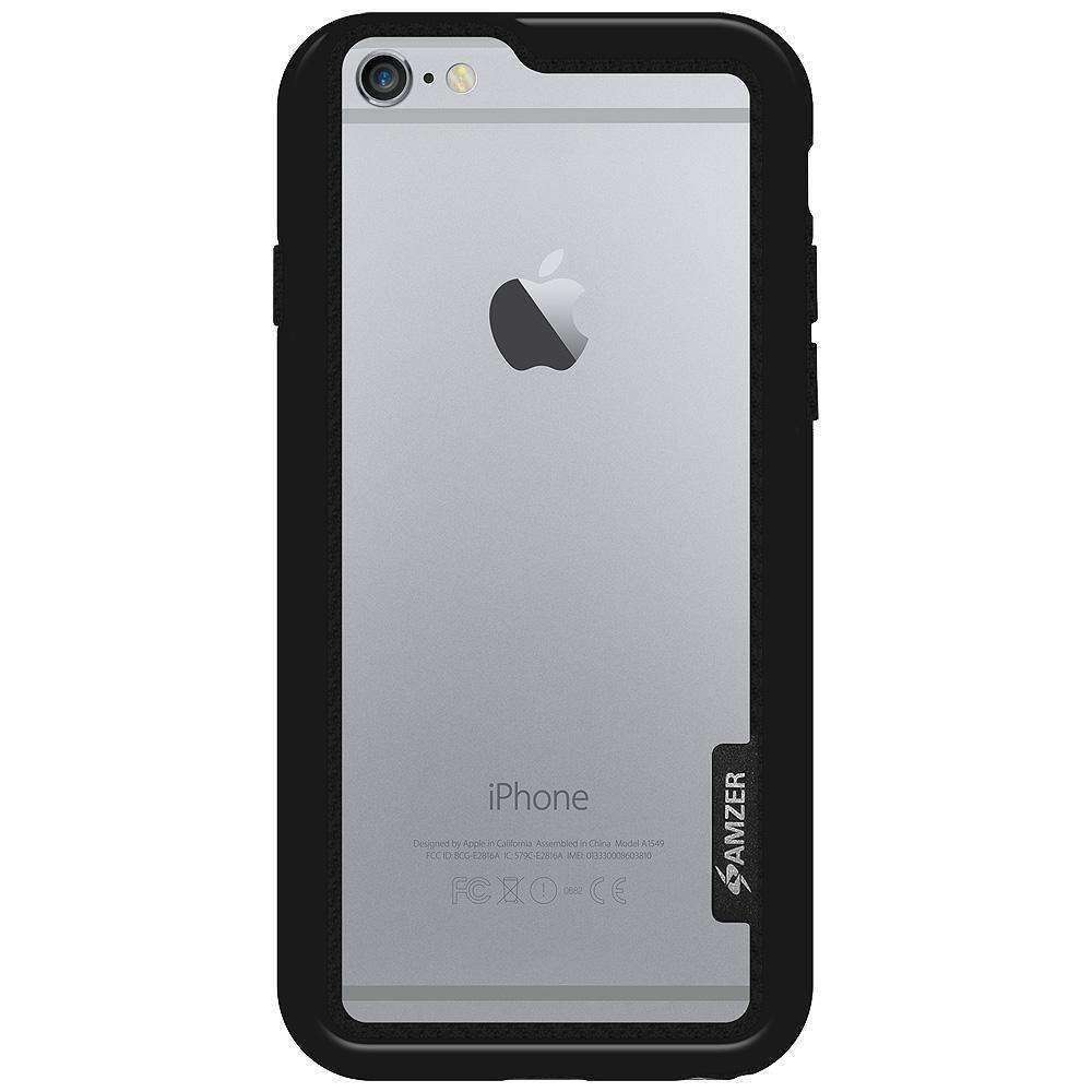 AMZER Border Bumper Hybrid Case for iPhone 6s - fommystore