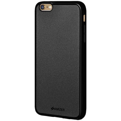 AMZER Pudding Soft TPU Skin Case for iPhone 6 Plus - Black - fommystore