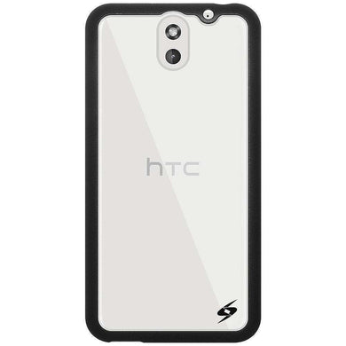 AMZER SlimGrip Bumper Hybrid Case for HTC Desire 610 - Black - fommystore