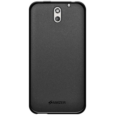 AMZER Pudding Soft TPU Skin Case for HTC Desire 610 - Black - fommystore
