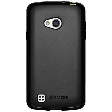 AMZER Pudding Soft TPU Skin Case for LG L50 D213N - Black - fommystore