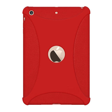 AMZER Shockproof Rugged Silicone Skin Jelly Case for Apple iPad mini 3 - Red - fommystore