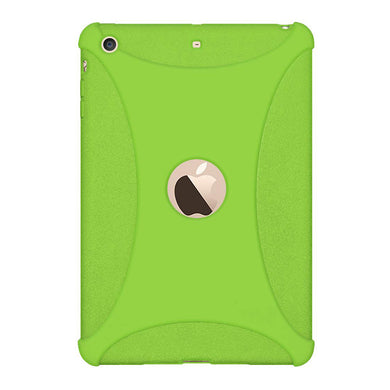 AMZER Shockproof Rugged Silicone Skin Jelly Case for Apple iPad mini 3 - Green - fommystore