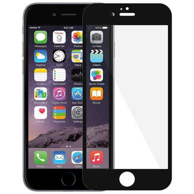 AMZER Kristal Edge2Edge Screen Protector for iPhone 6 - Black - fommystore