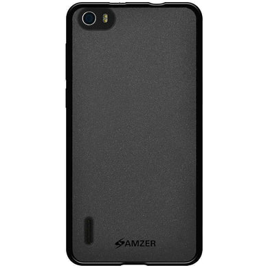AMZER Pudding Soft TPU Skin Case for Huawei Honor 6 - Black - fommystore